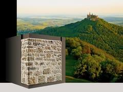 Rivestimento di facciata in pietra ricostruita BORGO P33 - Profilo SQUADRATO