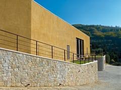 Rivestimento di facciata in pietra ricostruita GARDA P81 - Profilo SQUADRATO