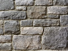 Rivestimento in pietra ricostruitaBERGAMO P01 | Grigio Terra - GEOPIETRA