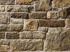 Rivestimento in pietra ricostruitaBERGAMO P01 | Marrone Terra - GEOPIETRA