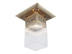 Lampada da soffitto a luce diretta in ottone BERLIN II   Lampada da soffitto - Berlin