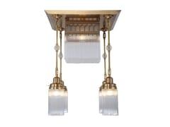 Lampada da soffitto a luce diretta in ottone BERLIN IV | Lampada da soffitto - Berlin