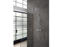 Colonna doccia a parete con doccettaBERLINO - WEISS-STERN
