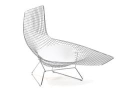 Chaise longue in acciaioBERTOIA   Chaise longue in acciaio - KNOLL INTERNATIONAL