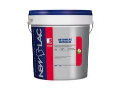 Idropittura acrilica anticarbonatanteBETON LAC METALLIC - NEW LAC