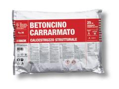 Bacchi, BETONCINO CARRARMATO Calcestruzzo in sacco predosato