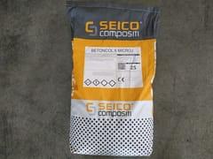Seico Compositi, BETONCOL MICROJ Micromalta cementizia antiritiro