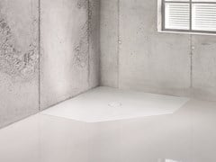 Piatto doccia angolare filo pavimento BETTEFLOOR CARO -