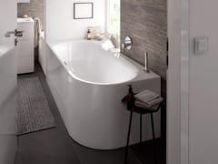 Vasca Da Bagno Esterna : Vasca da bagno centro stanza ovale bettelux oval silhouette bette