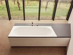 Scheda Tecnica Vasca Da Bagno Da Incasso : Vasca da bagno a incasso cassia in acciaio porcellanato bianco