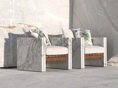 Poltrona in marmo con braccioliBETTOGLI   Poltrona - HOME DESIGN BY FRANCHI UMBERTO MARMI
