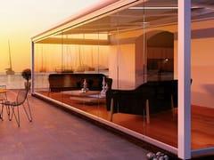 Metalglas Bonomi, FALCE-70 Sistema a pannelli mobili in vetro