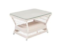 Tavolino da caffè da giardino rettangolareBIARRITZ | Tavolino rettangolare - KOK MAISON
