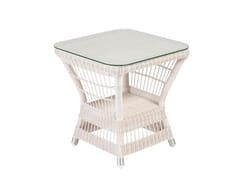 Tavolino da giardino quadratoBIARRITZ | Tavolino quadrato - KOK MAISON