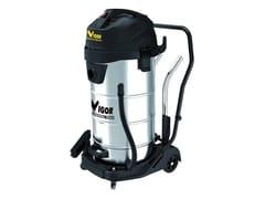 VIGOR®, BIDONE VBA-100L/3M INOX Aspirapolvere professionali