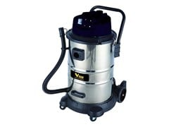 VIGOR®, BIDONE VBA-50L INOX Aspirapolvere professionali