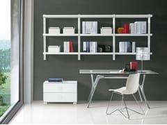Libreria componibile sospesa BIG HOME | Libreria sospesa - Big