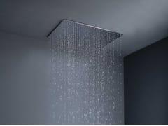 Soffione doccia a pioggia da incasso in ottone con sistema anticalcare BIG RAIN | Soffione doccia da incasso -