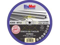 Disco da taglioBIGMAT DISCO DA TAGLIO PRO FERRO - 115 - BIGMAT ITALIA