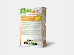Rasante naturale eco-compatibileBIOCALCE® INTONACHINO FINO - KERAKOLL S.P.A.