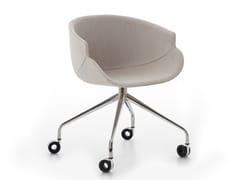 Sedia ufficio con ruoteBIX | Sedia ufficio con ruote - B-LINE