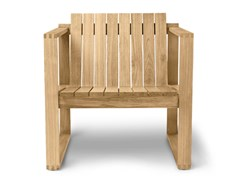 Poltroncina in legno massello con braccioliBK11   Lounge Chair - CARL HANSEN & SØN MØBELFABRIK A/S