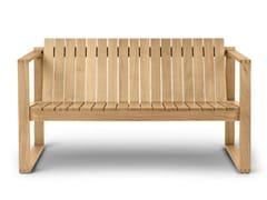 Divano in legno masselloBK12   Lounge Sofa - CARL HANSEN & SØN MØBELFABRIK A/S