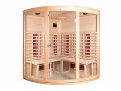 Sauna a infrarossiBL-108 | Sauna a infrarossi - BEAUTY LUXURY