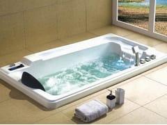 Vasca da bagno idromassaggio rettangolare da incassoBL-517   Vasca da bagno idromassaggio - BEAUTY LUXURY