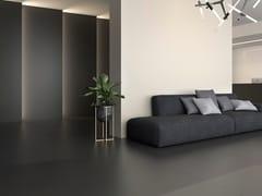 Pavimento/rivestimento in ceramica sinterizzata per interniBLACK - SANICERAMIC IMPORT AND EXPORT