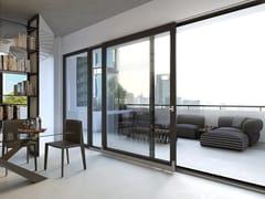 NURITH, BLACK SOUL Finestra a taglio termico con doppio vetro