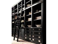 Libreria componibile con scaletta scorrevoleBALBIANELLO - CAROTI & CO.