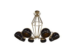 Lampada a sospensione in ottone BLACK WIDOW | Lampada a sospensione - NATURE