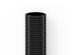 Tubo corrugato per passaggio cavi elettriciBLACKCOR | Rotolo da 25 m - ITALIANA CORRUGATI
