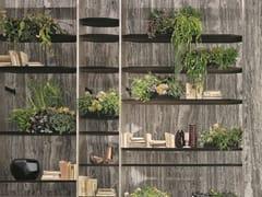 Libreria in legno con fissaggio pavimento-soffittoBLADE - H-07