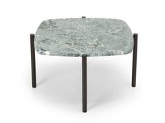 Tavolino basso quadrato in marmoBLADE COFFEE | Tavolino in marmo - TRUE DESIGN