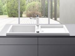 Lavello a una vasca da incasso in Silgranit®BLANCO ADON XL 6 S - BLANCO