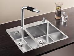 Lavello a 2 vasche in acciaio inox BLANCO ANDANO 340/180-IF/A - Blanco Andano