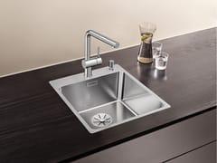 Lavello a una vasca appoggio filo top in acciaio inox BLANCO ANDANO 400-IF/A - Blanco Andano