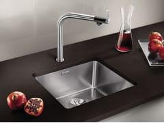 Lavello a una vasca da incasso sottotop in acciaio inox in stile moderno BLANCO ANDANO 450-U - Blanco Andano