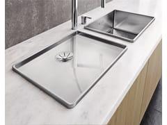 Lavello in acciaio inox con gocciolatoioBLANCO ATTIKA 60-T - BLANCO