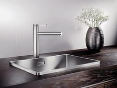 Lavello a una vasca da incasso in acciaio inoxBLANCO ATTIKA XL 60 - BLANCO