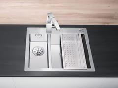 Lavello a una vasca e mezzo filo top in acciaio inox BLANCO CLARON 340/180-IF/A - Blanco Claron