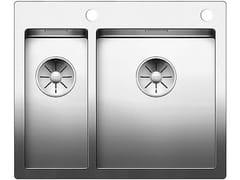 Lavello a una vasca e mezzo filo top in acciaio inoxBLANCO CLARON 340/180-IF/A - BLANCO