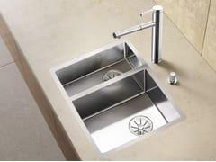 Lavello a una vasca e mezzo filo top in acciaio inox BLANCO CLARON 340/180-IF - Blanco Claron