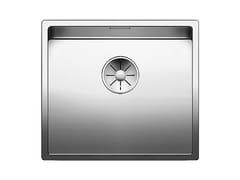 Lavello a una vasca da incasso in acciaio inoxBLANCO CLARON 450-IF - BLANCO