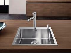 Lavello a una vasca da incasso in acciaio inox BLANCO CLARON 500-IF/A - Blanco Claron