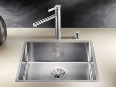 Lavello a una vasca filo top in acciaio inox BLANCO CLARON 500-IF - BLANCO