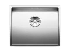 Lavello a una vasca sottotop in acciaio inox BLANCO CLARON 500-U - Blanco Claron