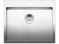 Lavello a una vasca filo top in acciaio inoxBLANCO CLARON 550-IF/A - BLANCO